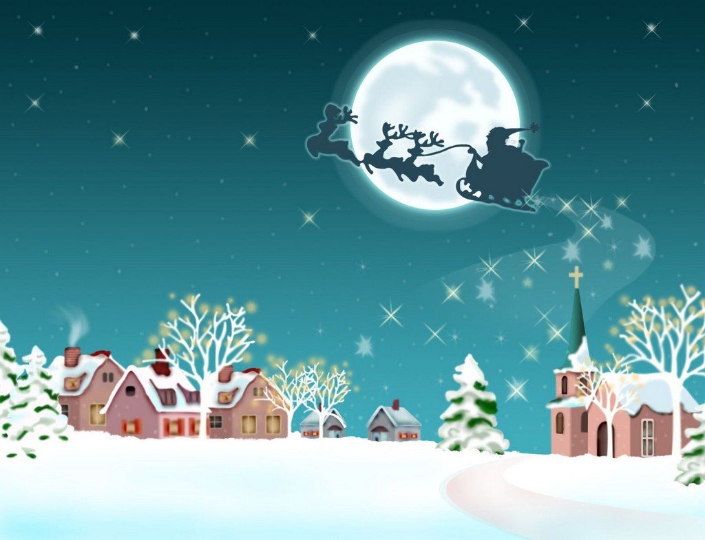 animated christmas backgrounds animated christmas gift animated 1024x785