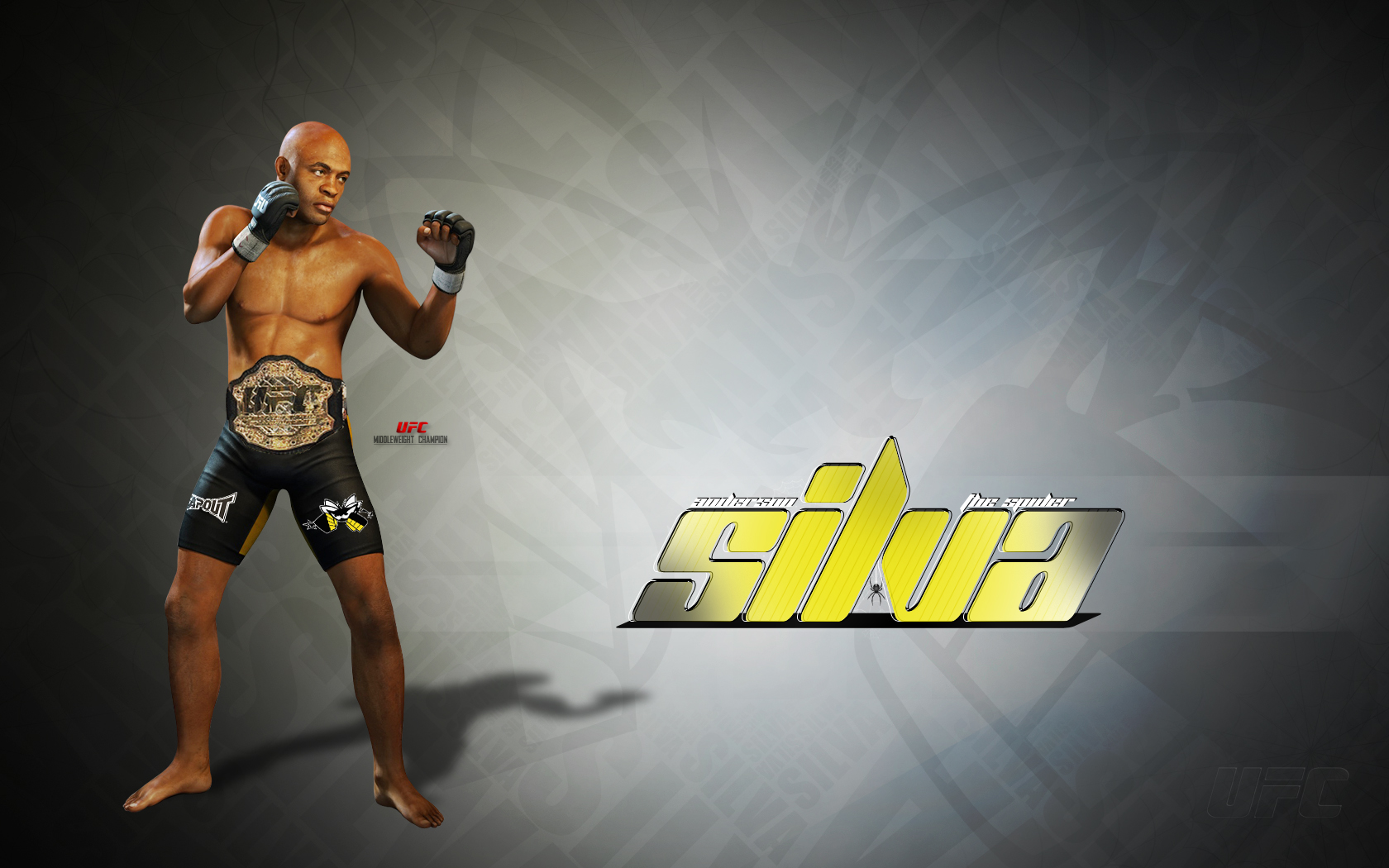 Anderson Silva Wallpapers HD Wallpapers Early 1680x1050