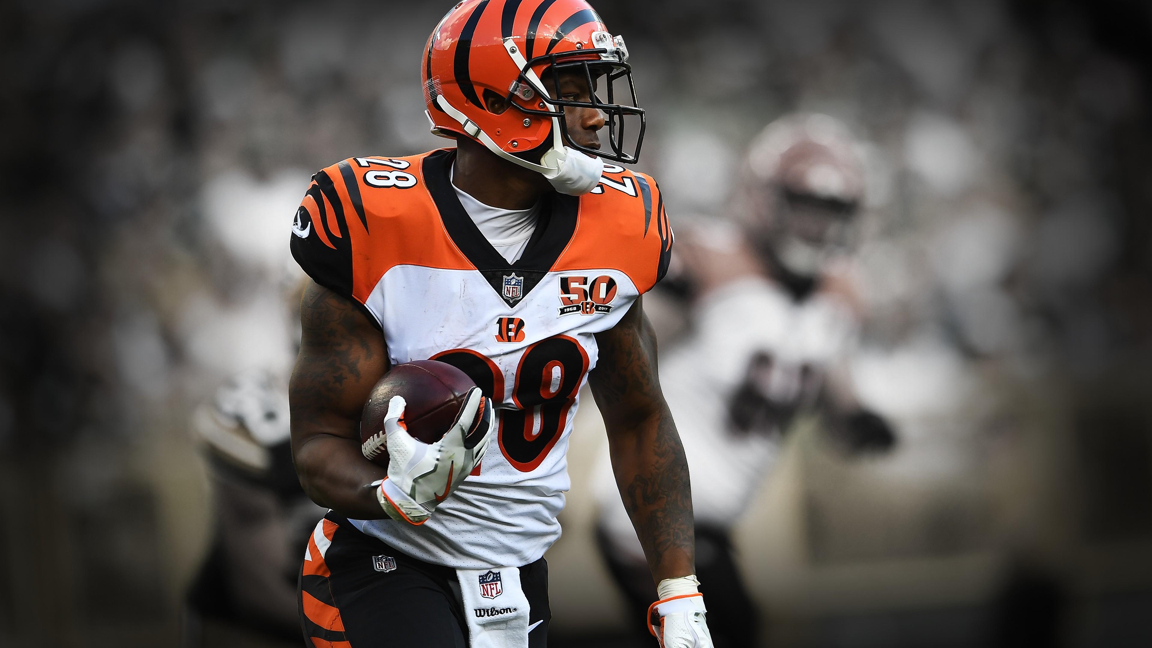 Joe Mixon Athletes Cincinnati OH Cincinnati Bengals Ohio 3840x2160