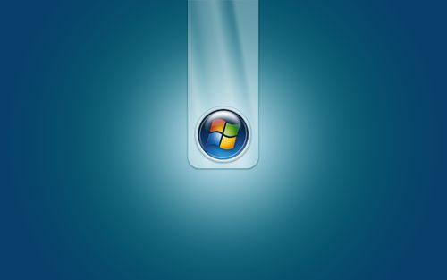 1600x900 Windows 7 logo wallpaper 500x313