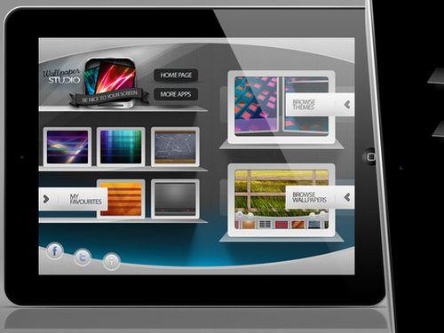 Wallpaper App Wallpaper Studio Pro HD for iPad iAppsin 500x375