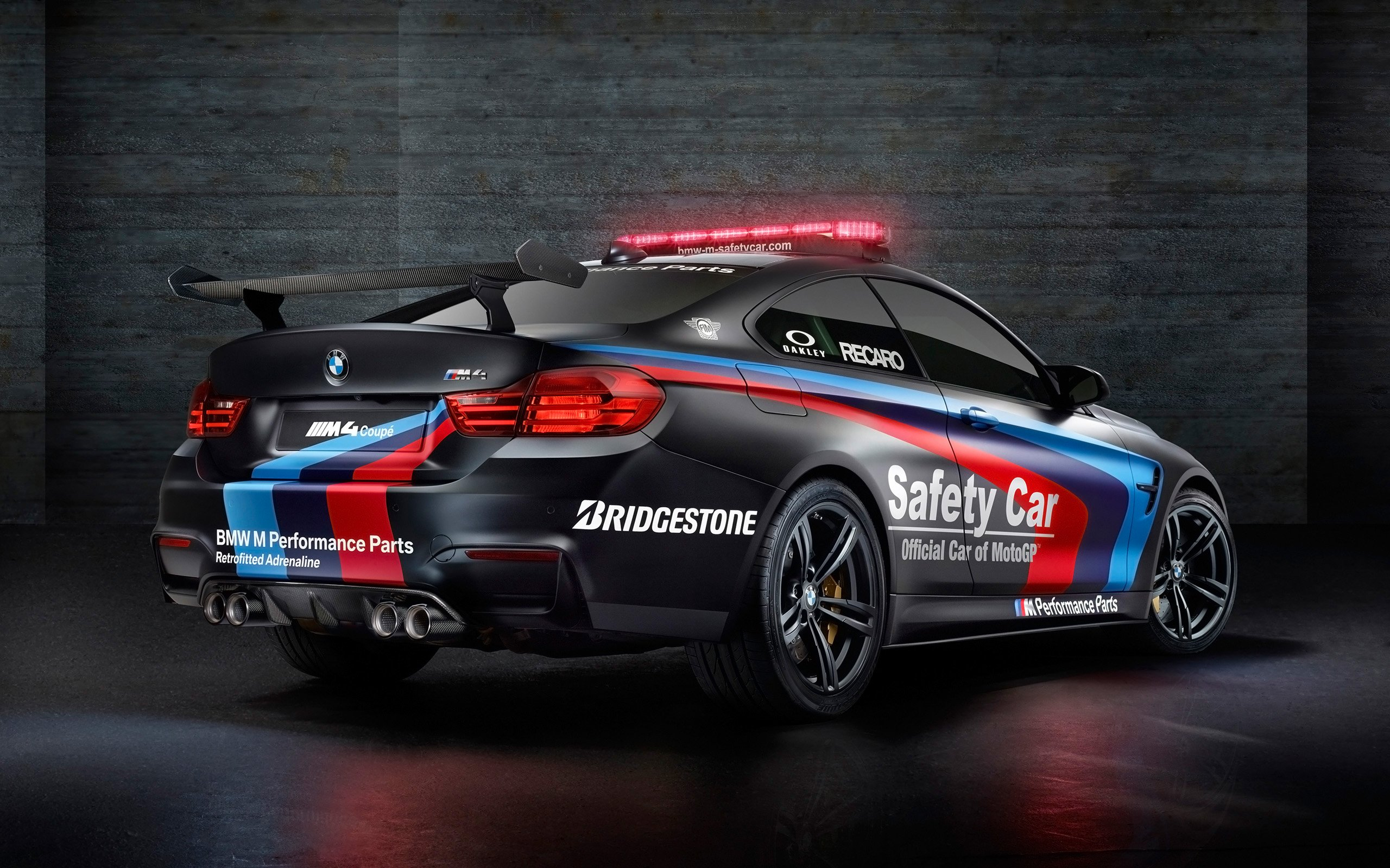 2015 BMW M4 MotoGP Safety Car 3 Wallpaper HD Car Wallpapers 2560x1600