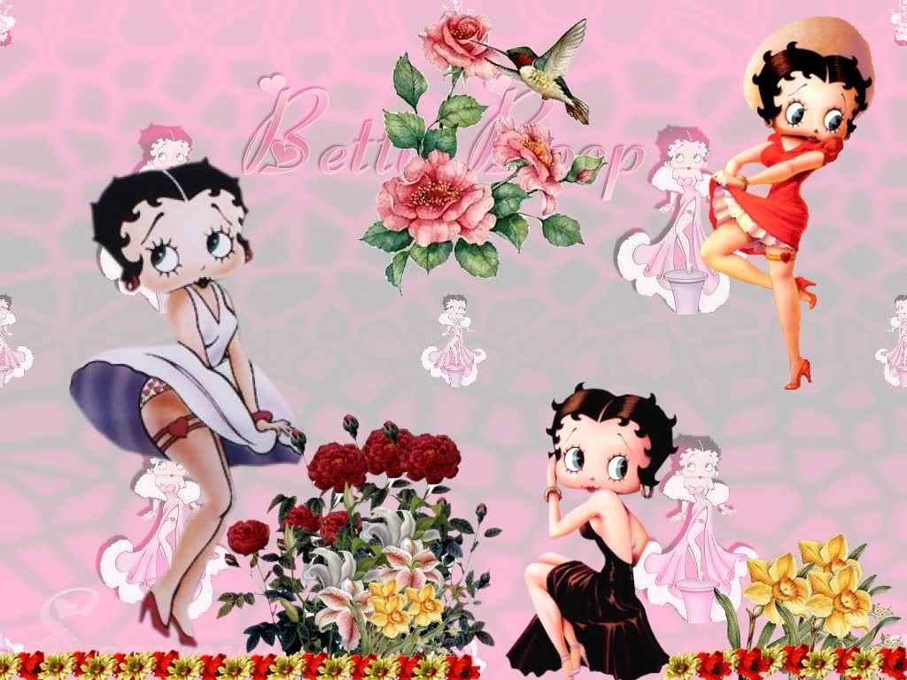 Betty Boop Wallpaper 1024x768 pixel Popular HD Wallpaper 40988 1024x768