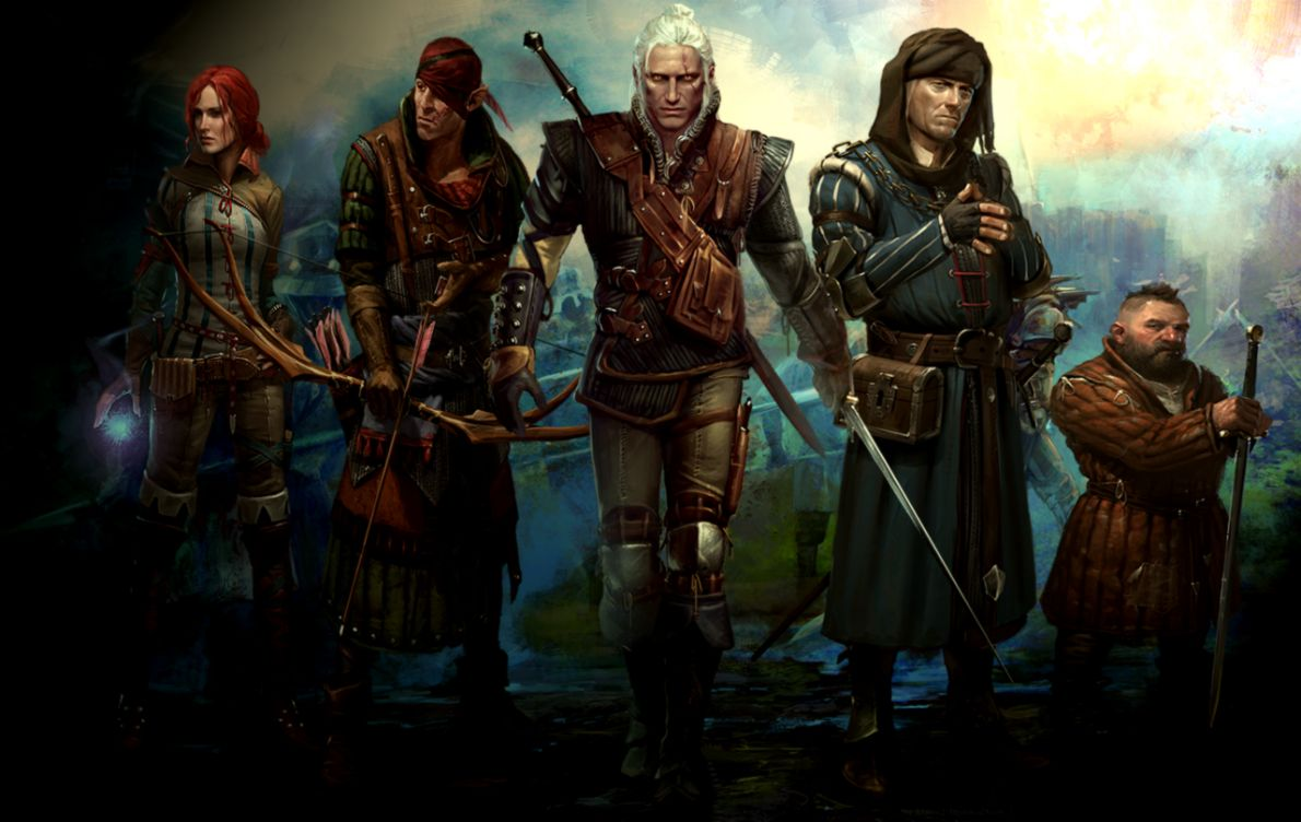 The Witcher 2 Geralt Wallpaper Hd Background Wallpapers 1190x752