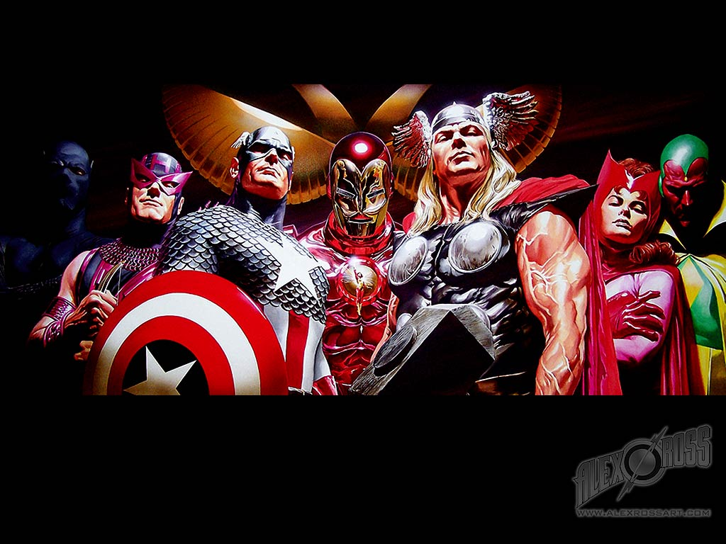 48 Alex Ross Justice League Wallpaper On Wallpapersafari