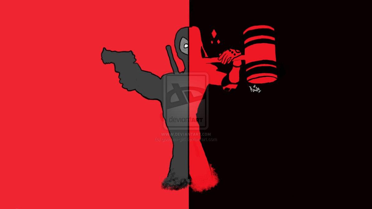 1193x670px Deadpool And Harley Quinn Wallpaper Wallpapersafari