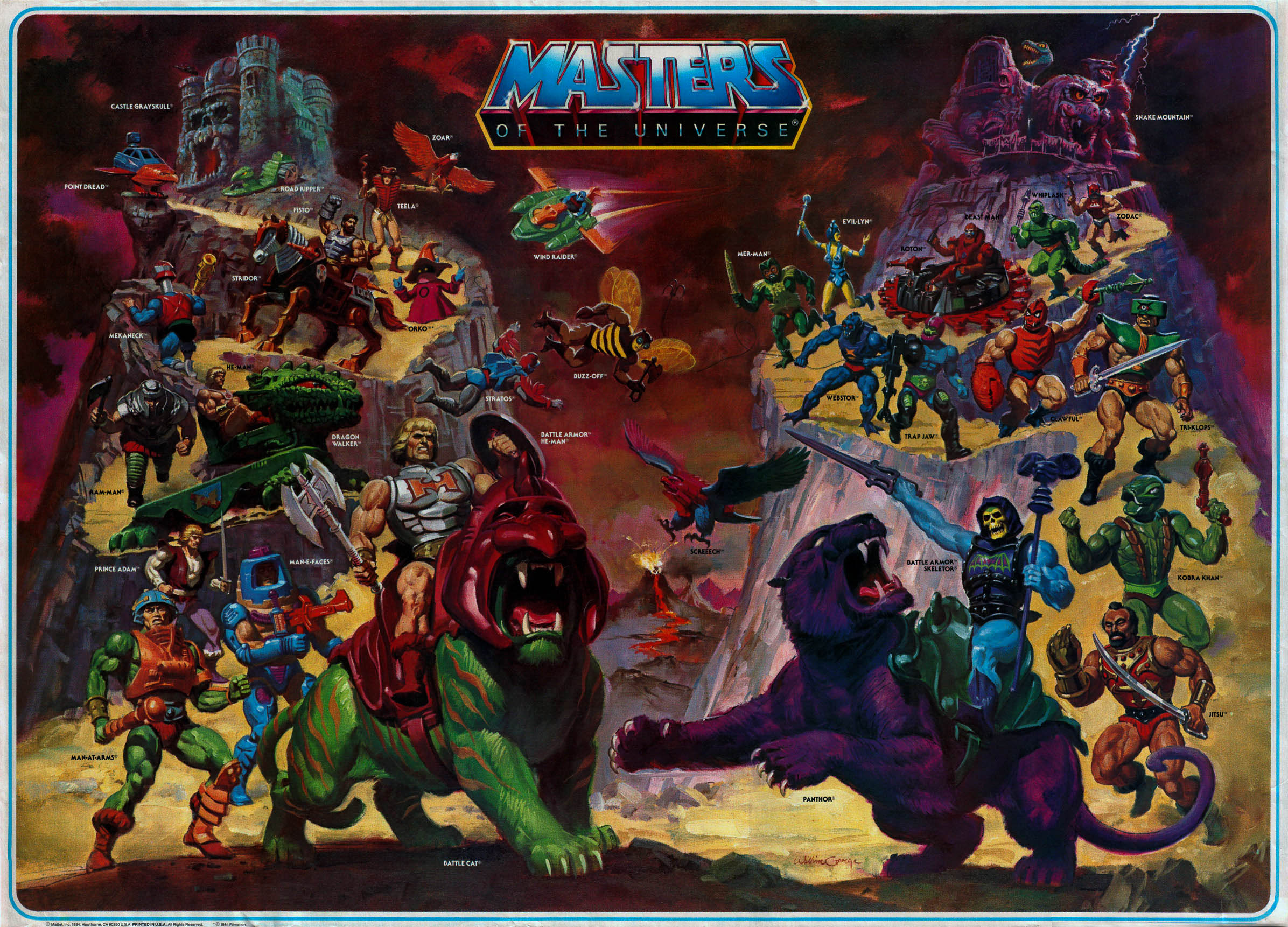 98 Masters Of The Universe Wallpapers On Wallpapersafari