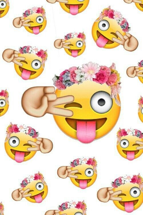 up EMOJI BACKGROUNDS AND WALLPAPERS WALLPAPERS Pinterest Emoji 500x750