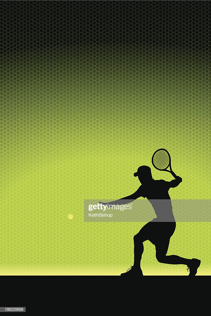 Tennis Volley Background Male High Res Vector Graphic   Getty Images 684x1024