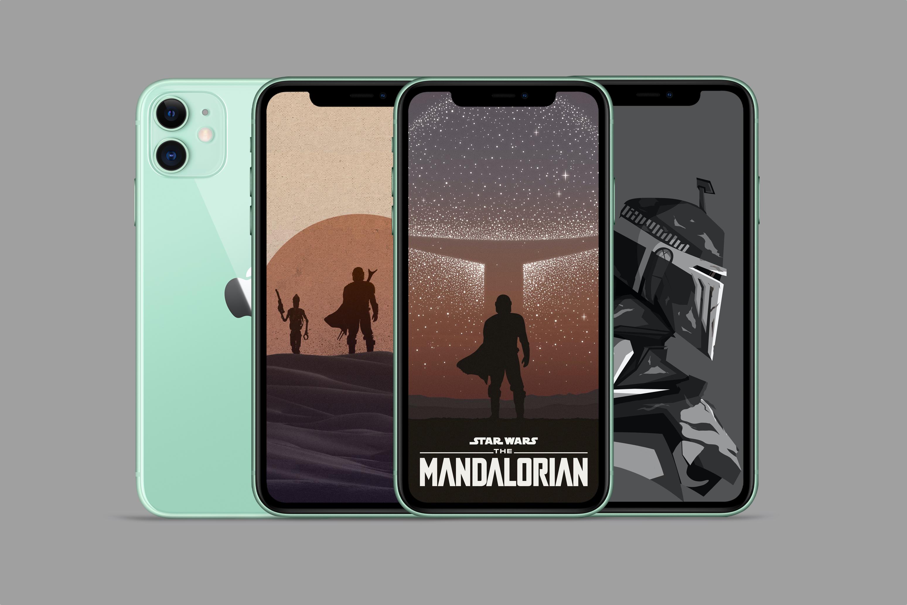 The Mandalorian iPhone wallpapers 3096x2064