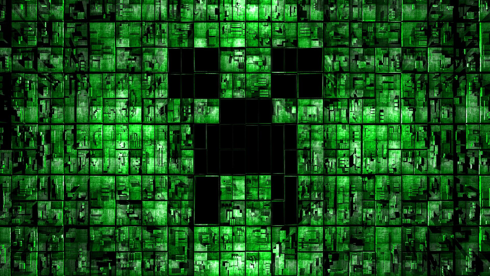 Minecraft Creeper Wallpaper Hd I3   1651224 1920x1080