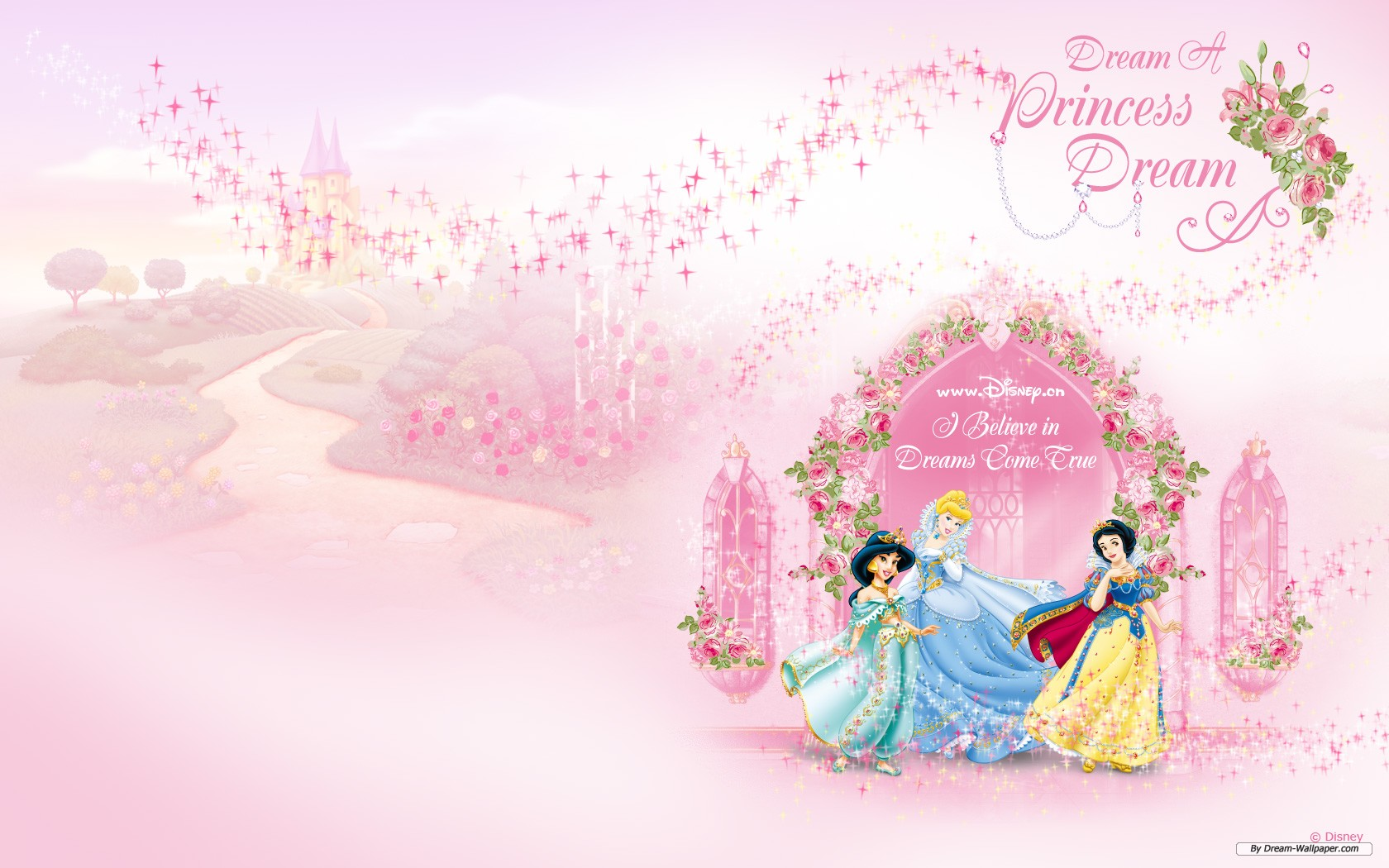 Pink Princess Castle Background | www.imgkid.com - The ...