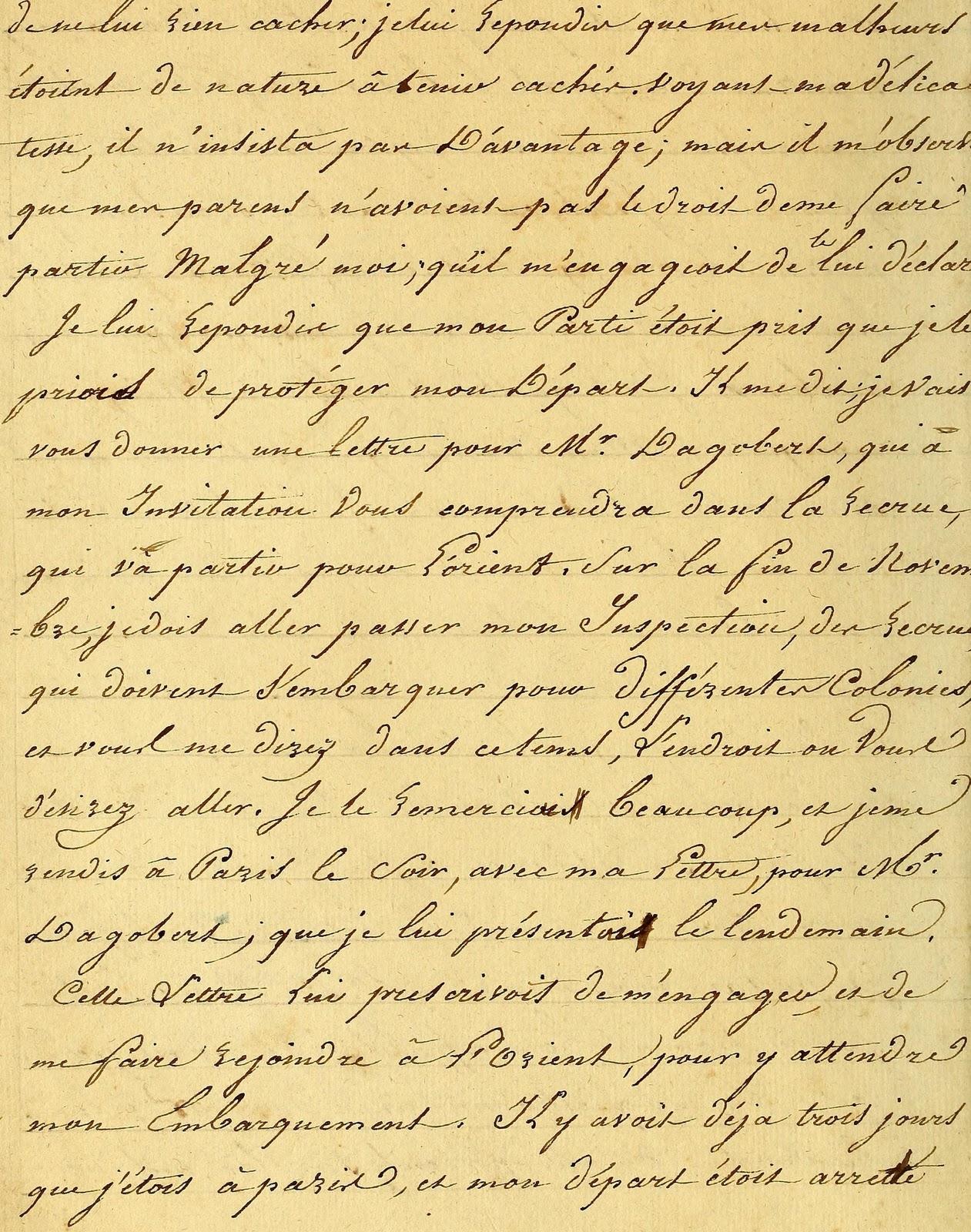 Vintage Ephemera French Script 1816 1261x1600