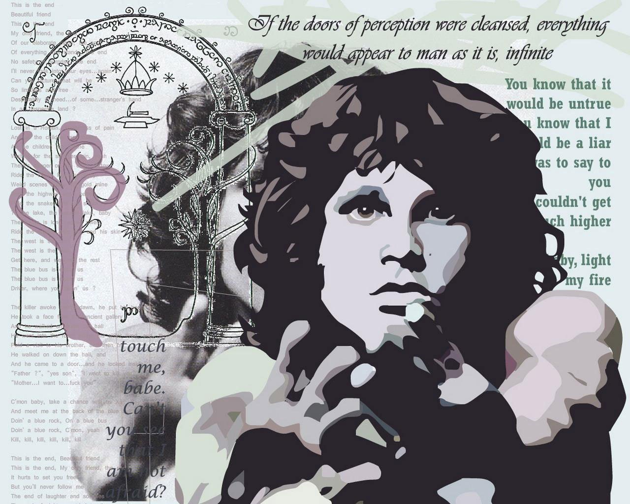Image result for jim morrison break on through