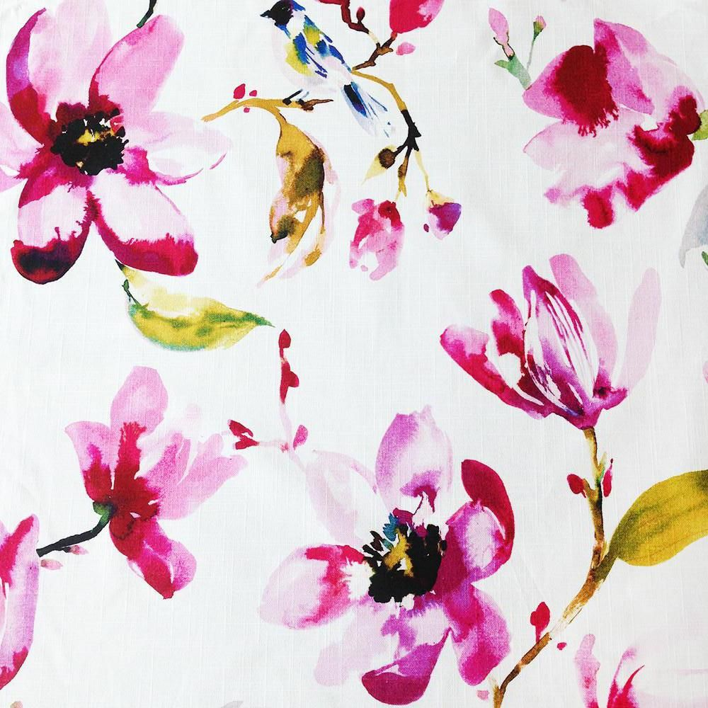 Layla Orchid fabricwallpaper in 2019 Floral upholstery 1000x1000