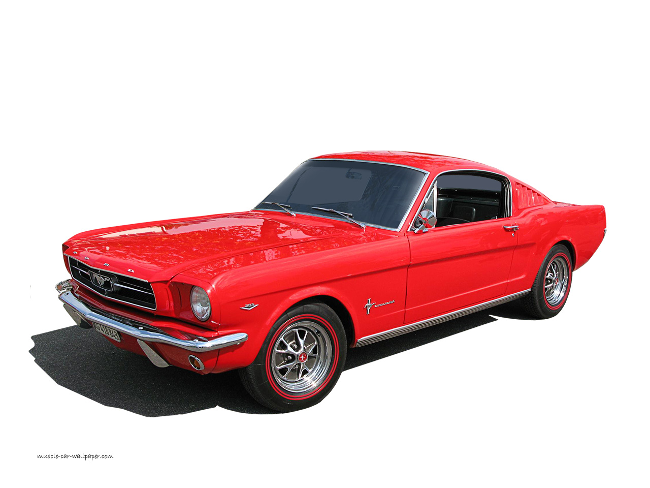 1965 Ford Mustang Wallpaper   Fastback   Left front view 1280 06 1280x960