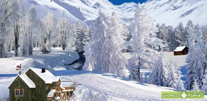 winter scenes live wallpaper