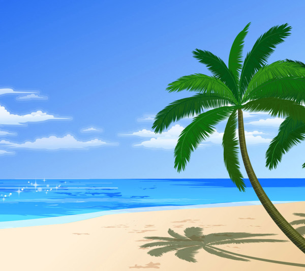 wallpaper Beach Background Cartoon hd wallpaper background desktop 600x533
