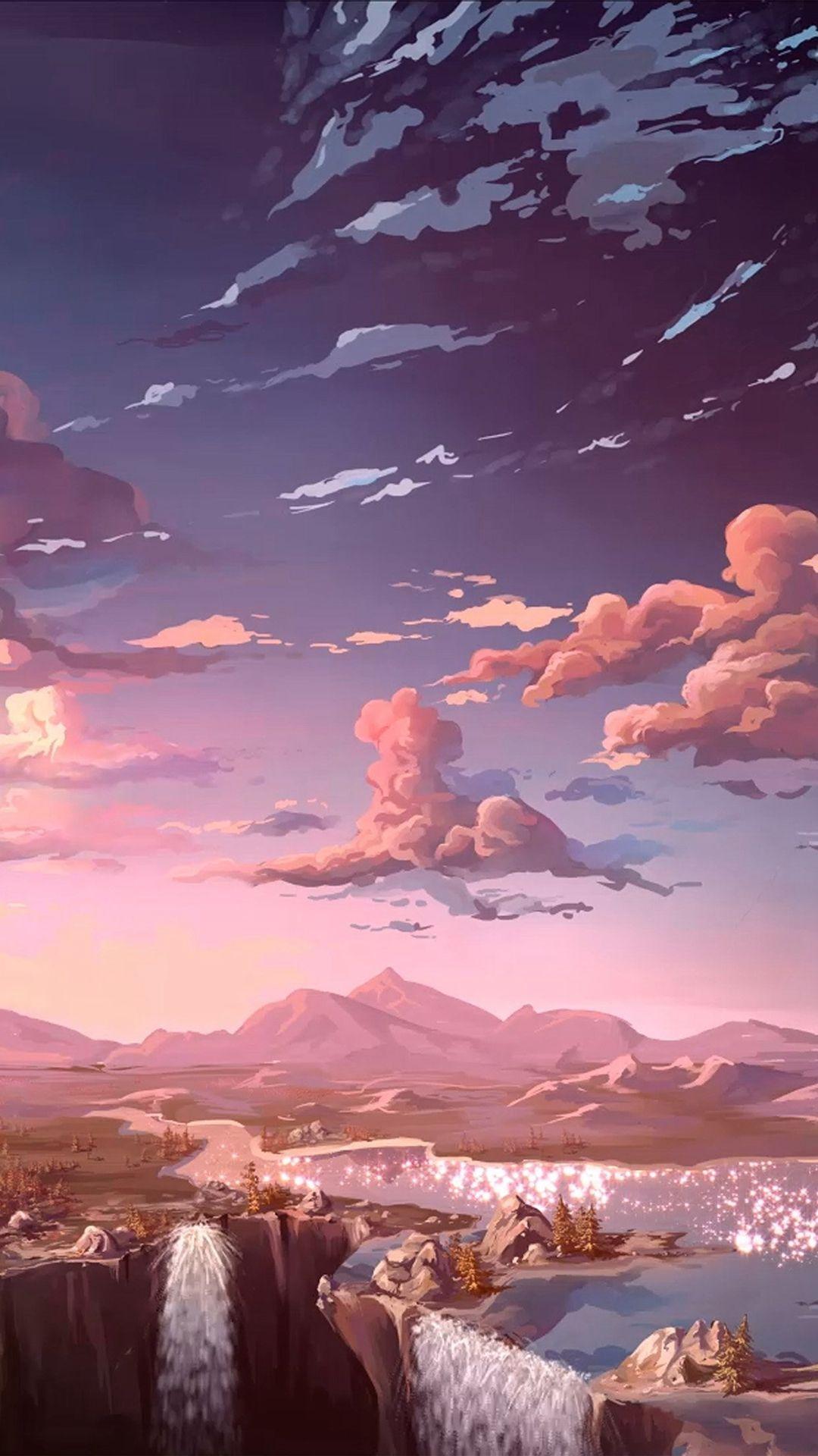 Aesthetic Anime iPhone Wallpapers   Top Aesthetic Anime 1080x1920