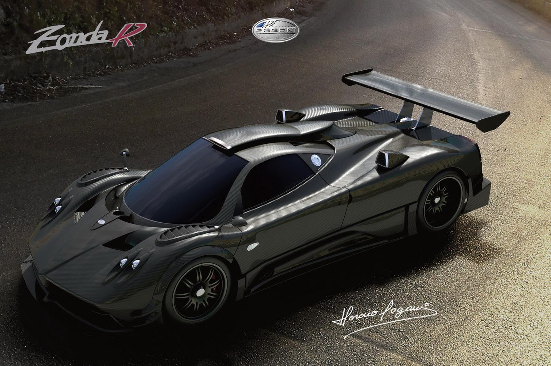 Luxury Cars: Pagani Zonda F