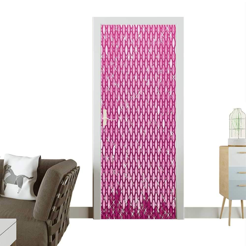 Amazoncom Door Sticker Wallpaper Stylish Vertical Crystal Diam 1000x1000