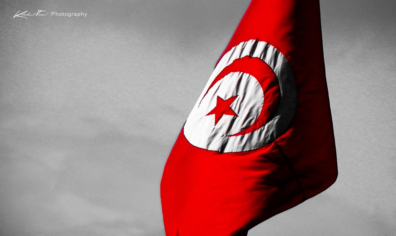 Tunisia flag 1280x764