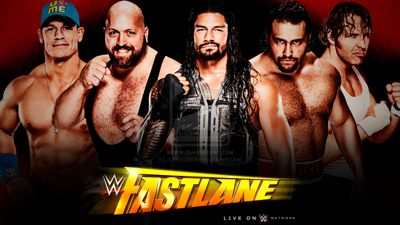 WWE Fastlane wallpaper by menasamih 1280x720