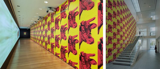Andy Warhols Cow Wallpaper 1966 The Lewis B and Dorothy Cullman 640x275
