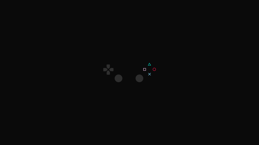Playstaion Minimalist Wallpaper   Game Collection by JoshMessmer on 1024x576