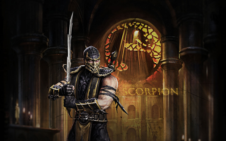 Games Wallpapers   Mortal Kombat 2011   Scorpion Revenge wallpaper 1440x900