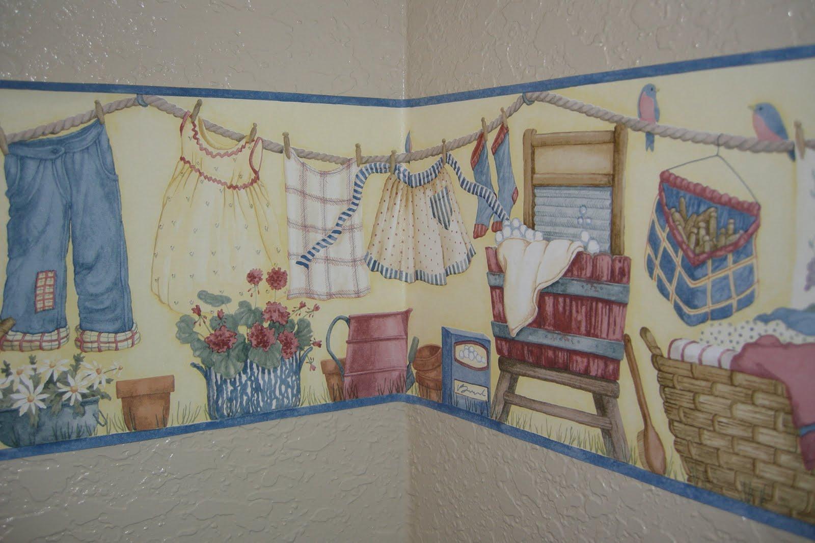 Best Wallpaper For Laundry Room Wallpapersafari