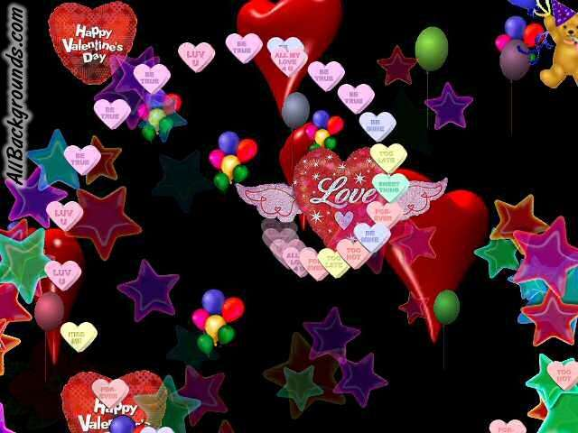 Animated Hearts Backgrounds   Twitter Myspace Backgrounds 640x480