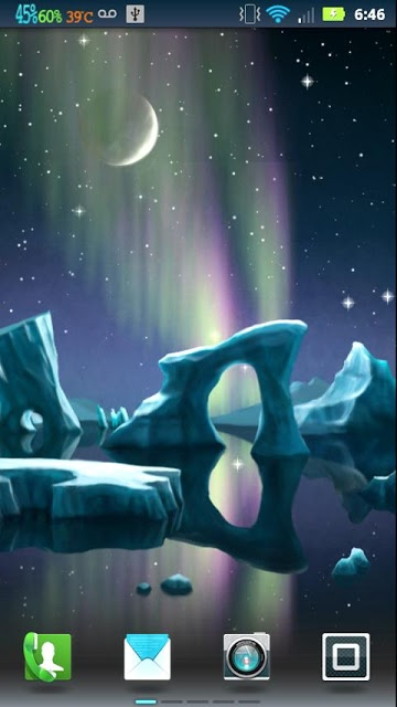Northern Lights Aurora screenshots 360x640