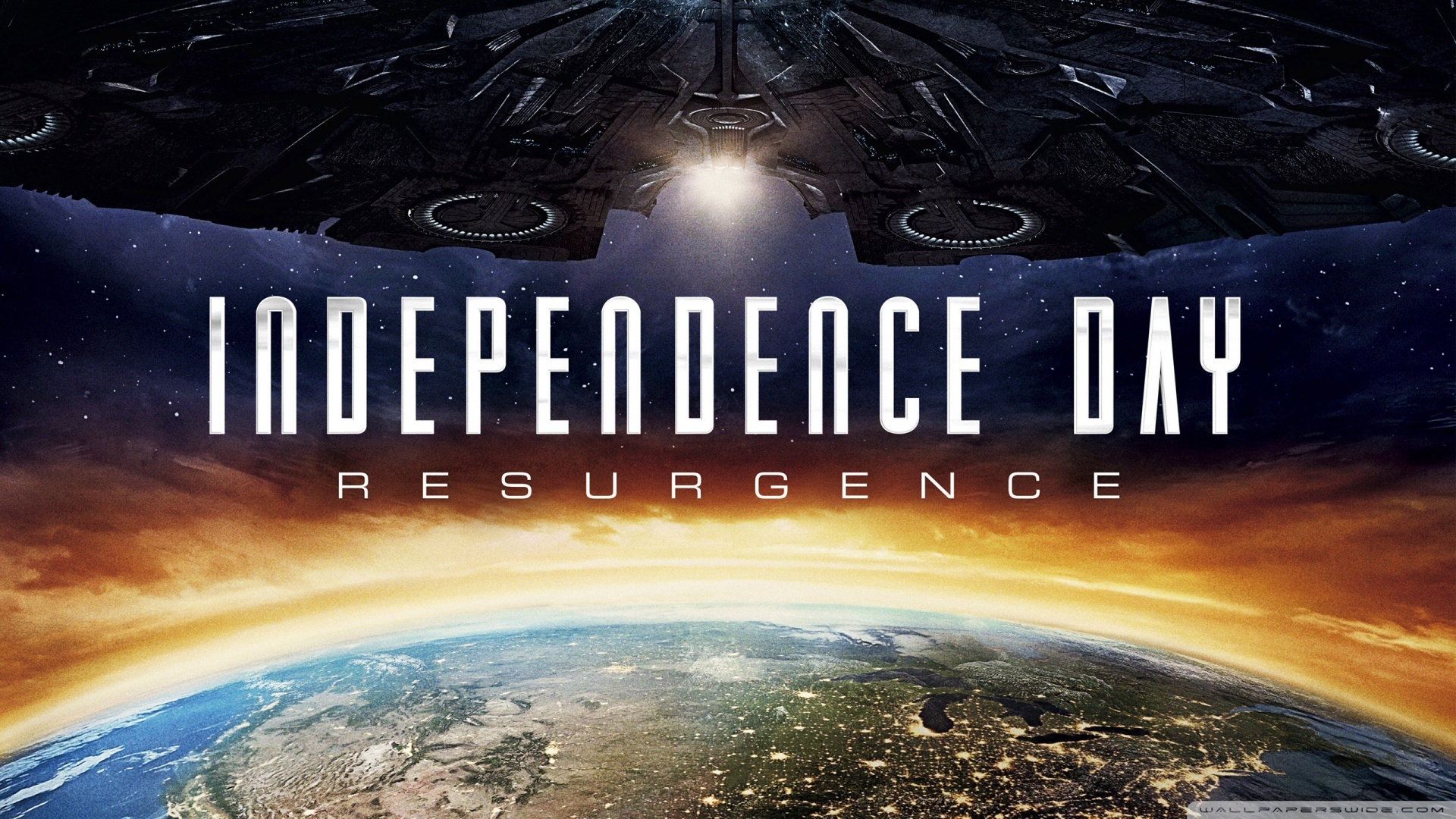 Independence Day Resurgence 4K HD Desktop Wallpaper for 4K 1920x1080