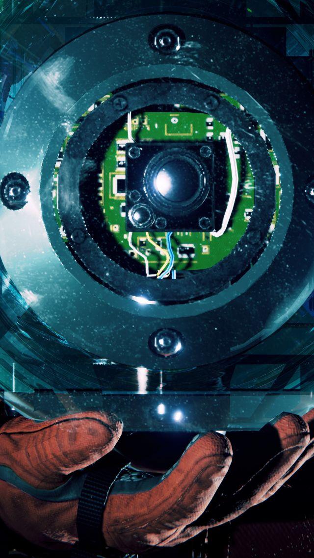 Wallpaper Observation poster 5K Games 21526 640x1138