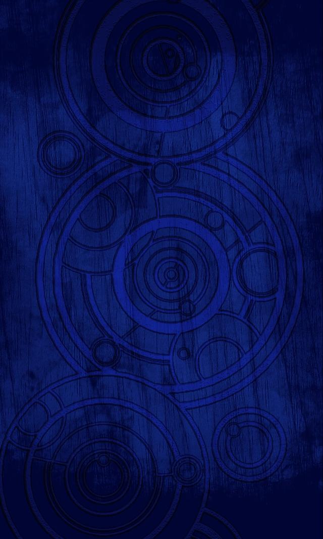 Gallifreyan Script Phone Wallpaper by ThePromethean 640x1066