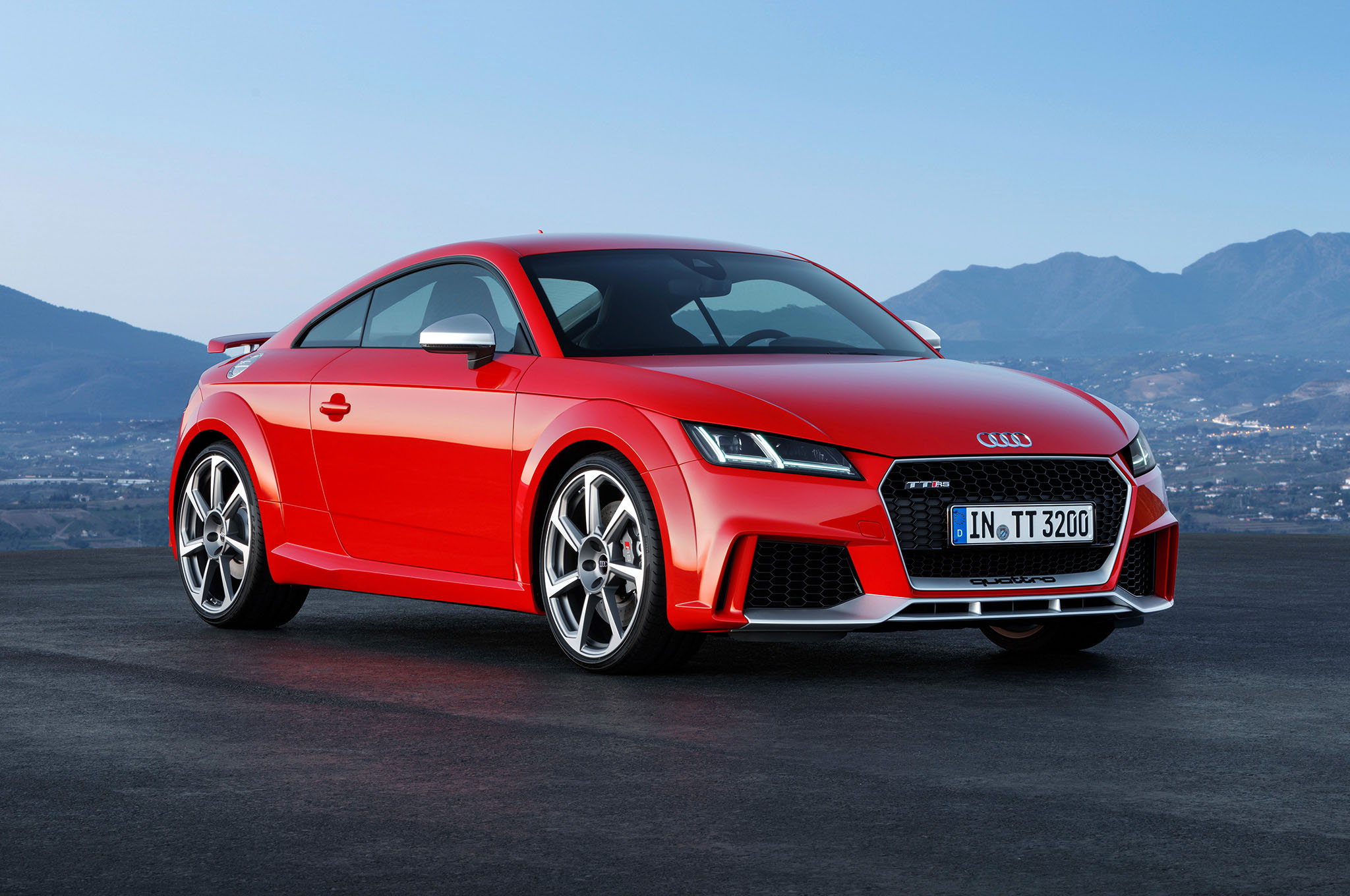 2017 Audi TT RS Coupe Laptop Wallpaper | HD Car Wallpapers