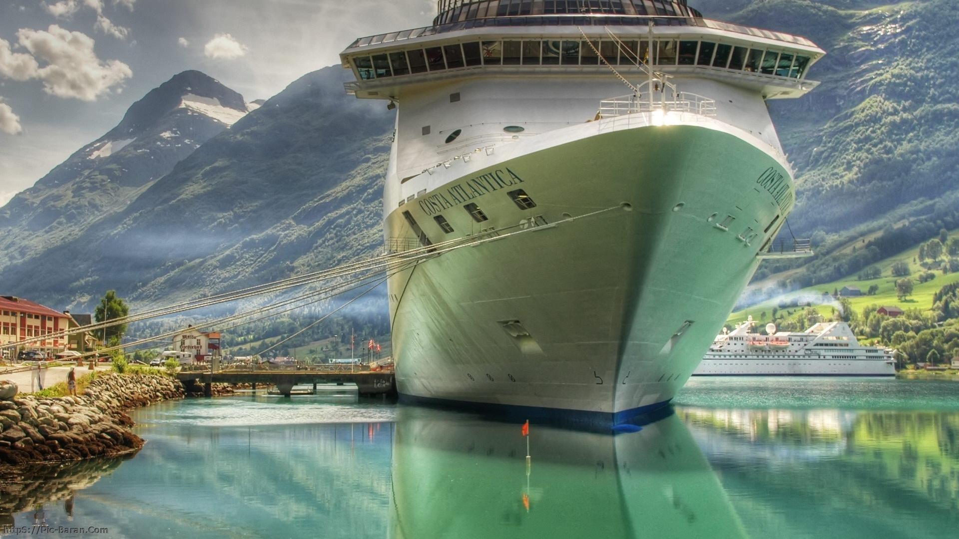 Ships Cruise Wallpaper 1920x1080 Ships Cruise Ship 1920x1080