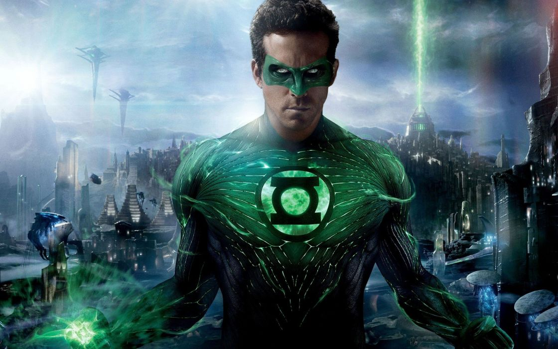 Green Lantern movies Ryan Reynolds Hal Jordan wallpaper 1120x700