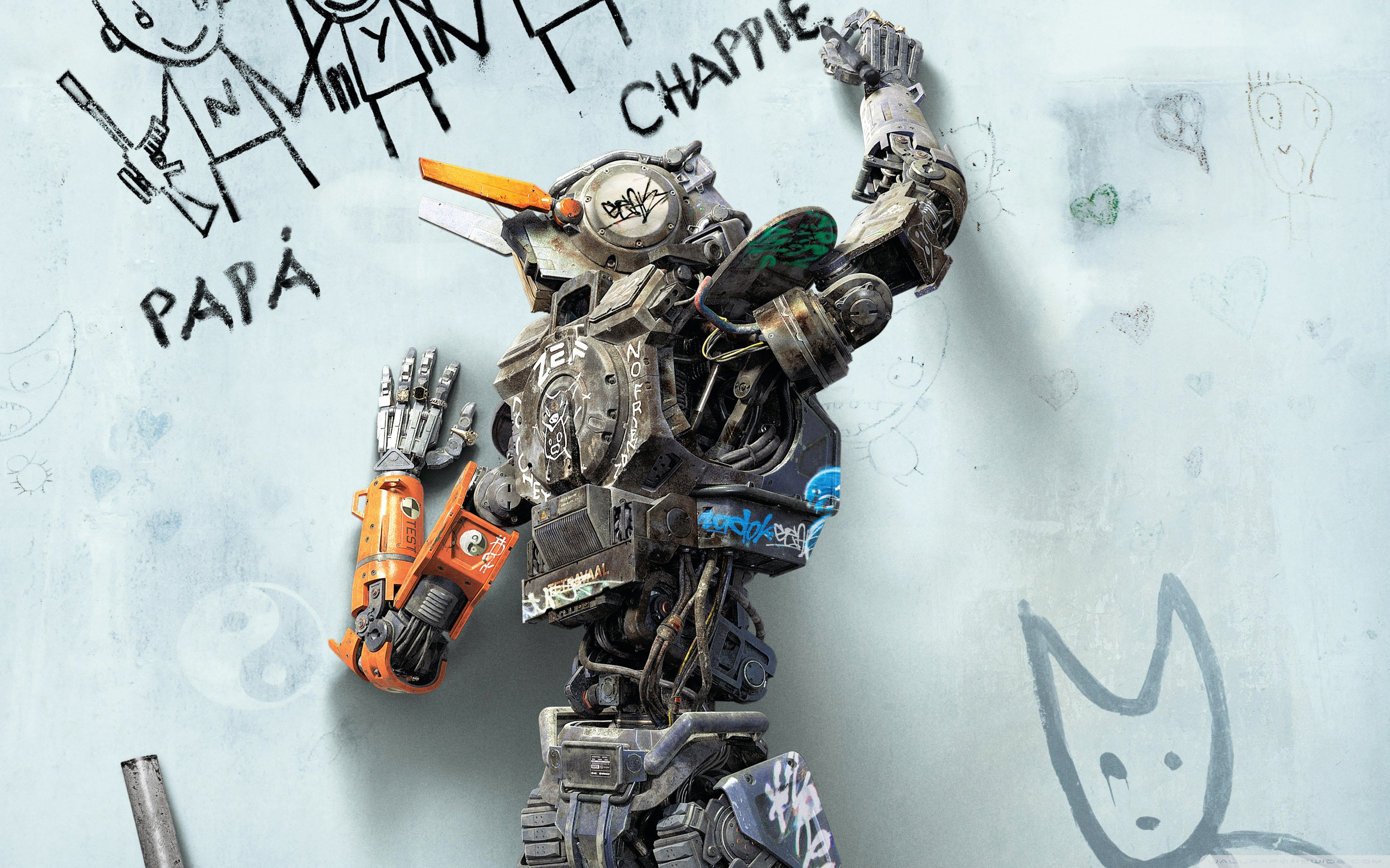 Chappie Wallpapers and Background Images   stmednet 2880x1800