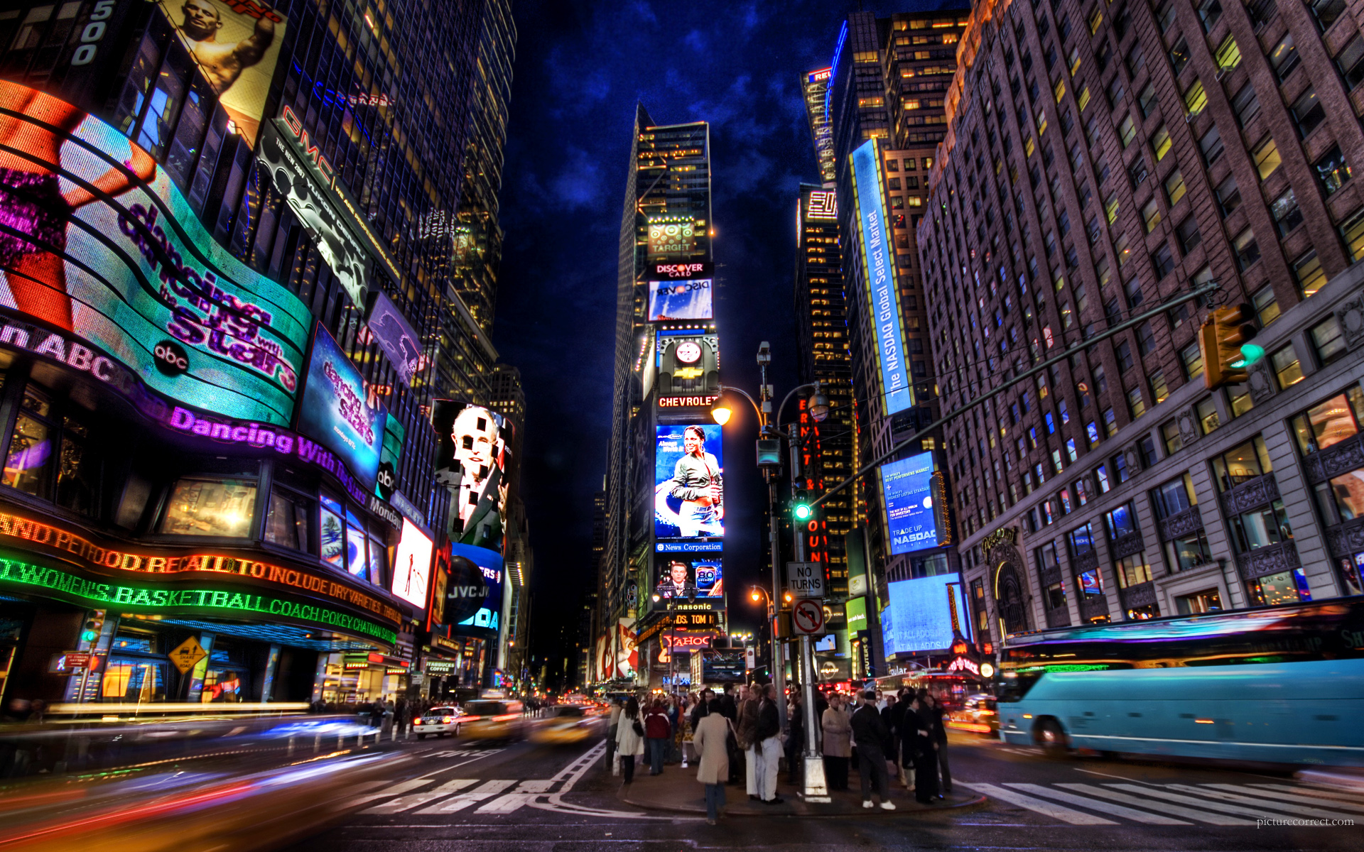New York City HDR 1920x1200