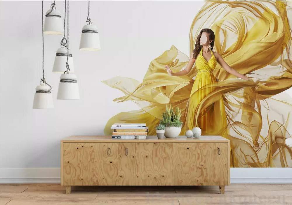 Wallpaper 3D Mural Dinamica astratta di bellezza di arte moderna 1000x704