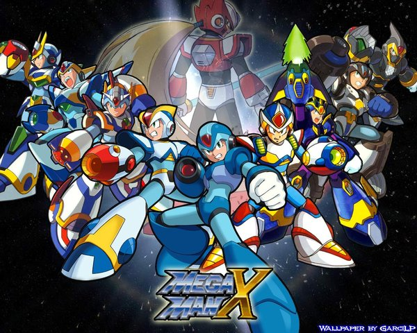 Megaman x wallpaper by garcilp