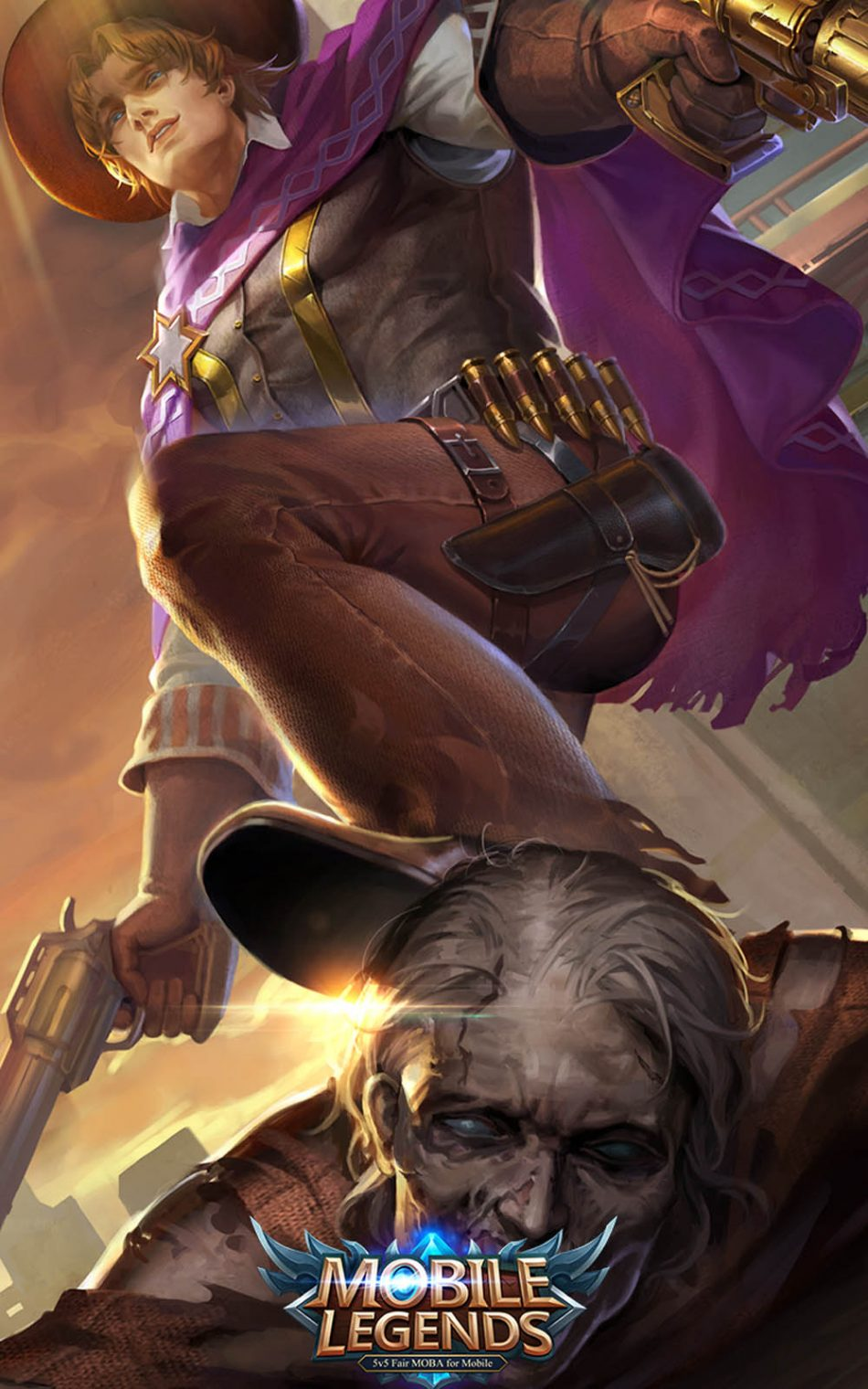 Download Clint Mobile Legends Hero Pure 4K Ultra HD Mobile 950x1520