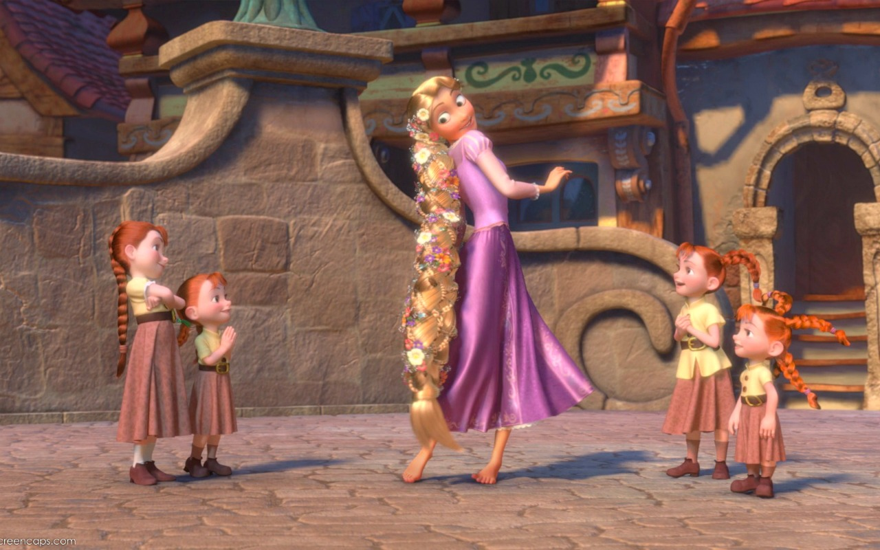 Rapunzel Wallpaper   Disney Princess Wallpaper 28959066 1280x800
