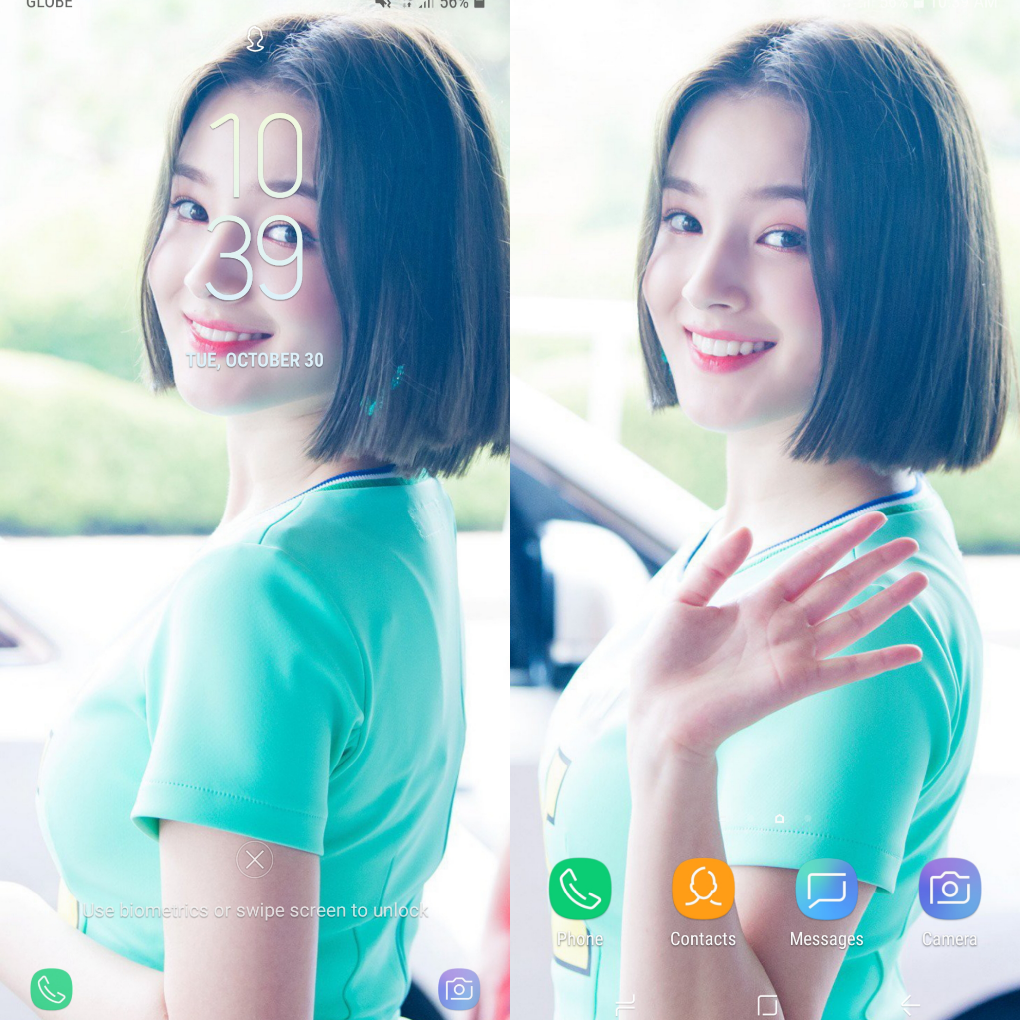 Im a bit late for Nancy Mondays but I want to share my wallpaper 2048x2048