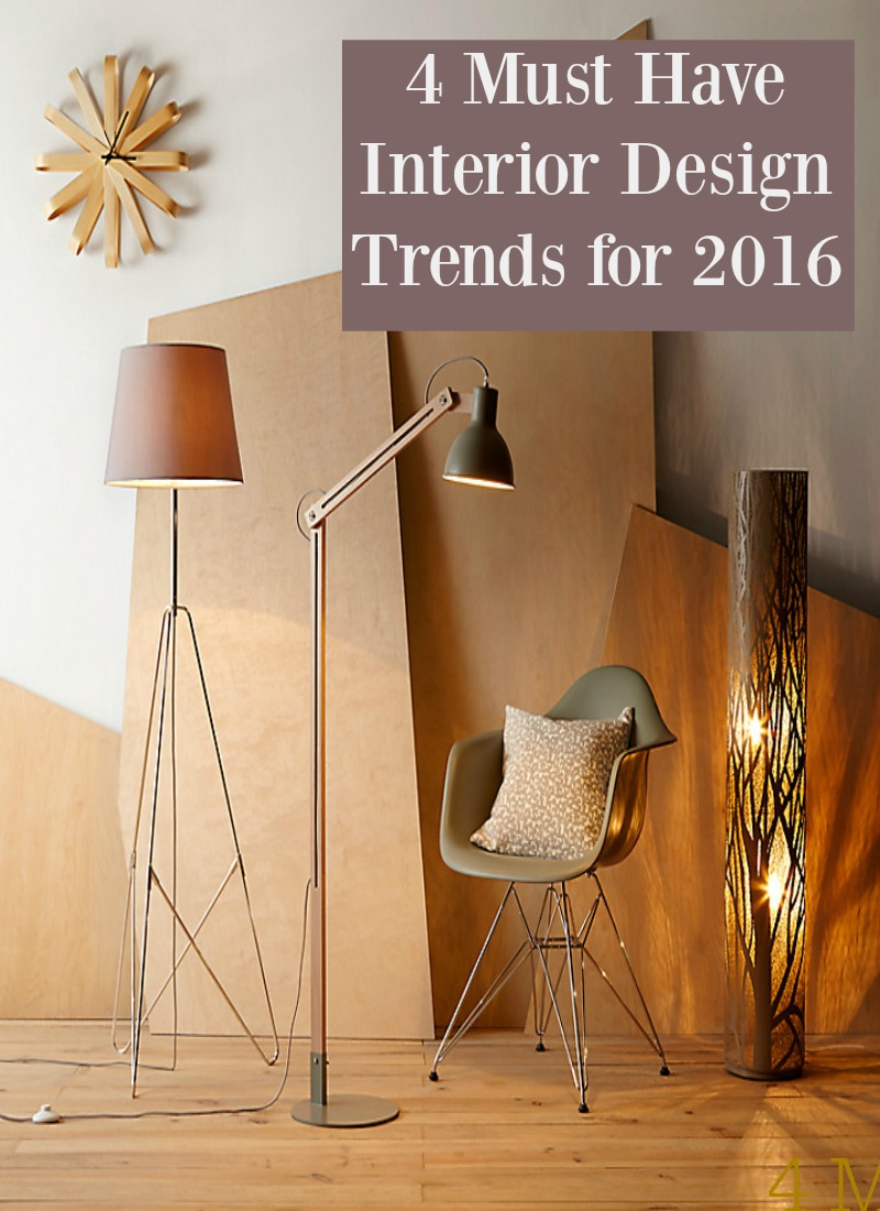 interior design trends for 2016   Thrifty Home 800x1100