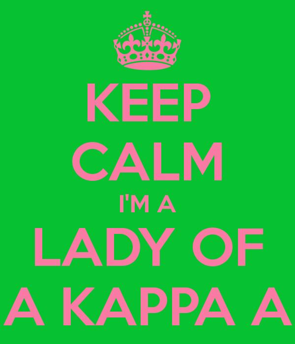 KEEP CALM IM A LADY OF ALPHA KAPPA ALPHA   KEEP CALM AND CARRY ON 600x700