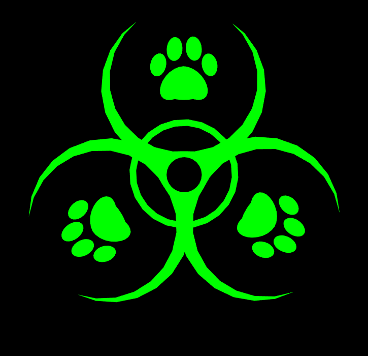 Cat And Dog Toxic Sign