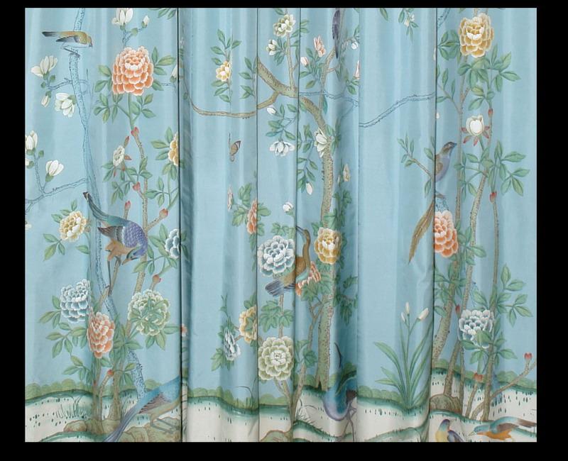 chinese wallpaper chinoiserie wallpaper silk wallpaper hand 800x650